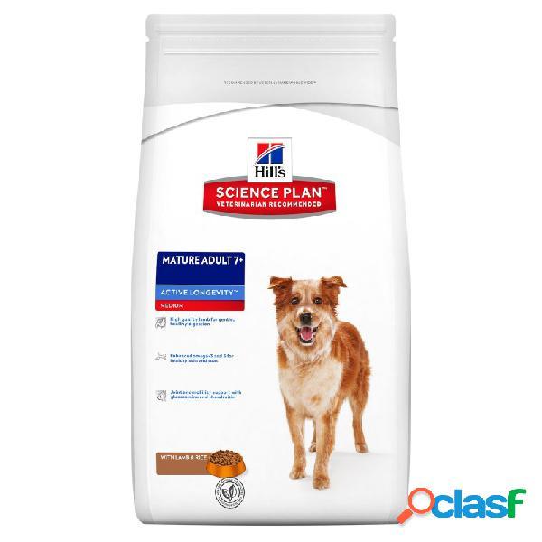 Hill's science plan - hill's mature adult con agnello e riso per cani sacco da 12 kg