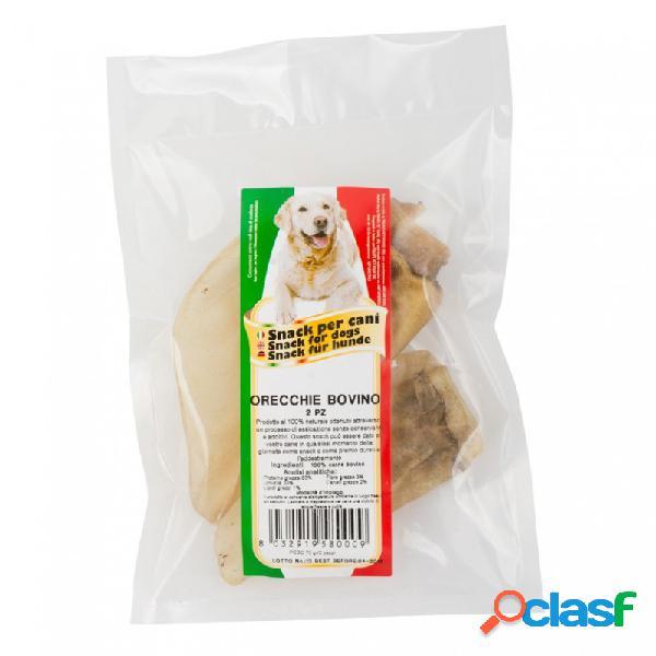 Farm company - orecchie di bovino per cani confezione da 2 pz