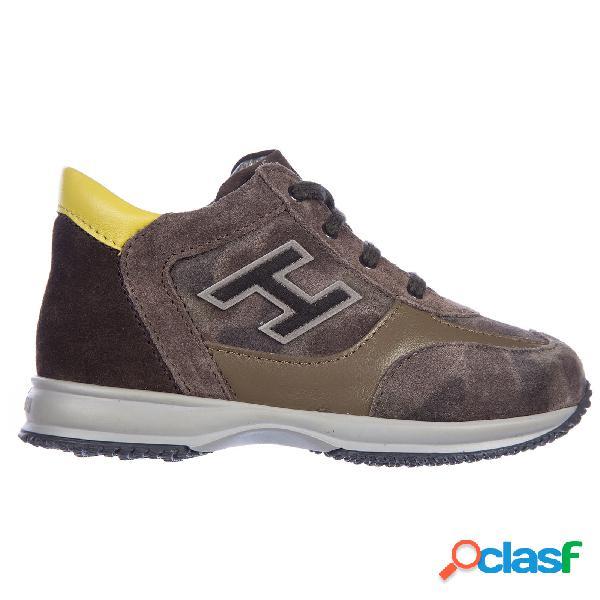 Scarpe sneakers bimbo bambino pelle interactive