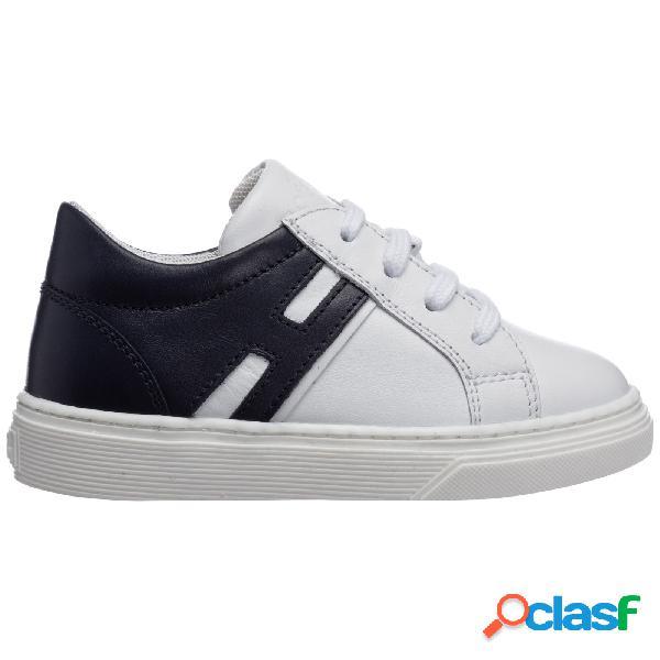 Scarpe sneakers bimbo bambino pelle j340