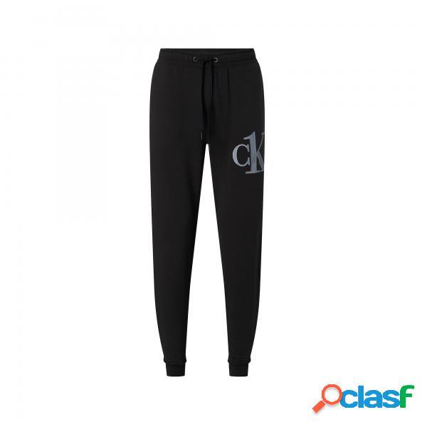 Pantaloni calvin klein one man jogger black calvin klein - pantaloni lunghi - taglia: l