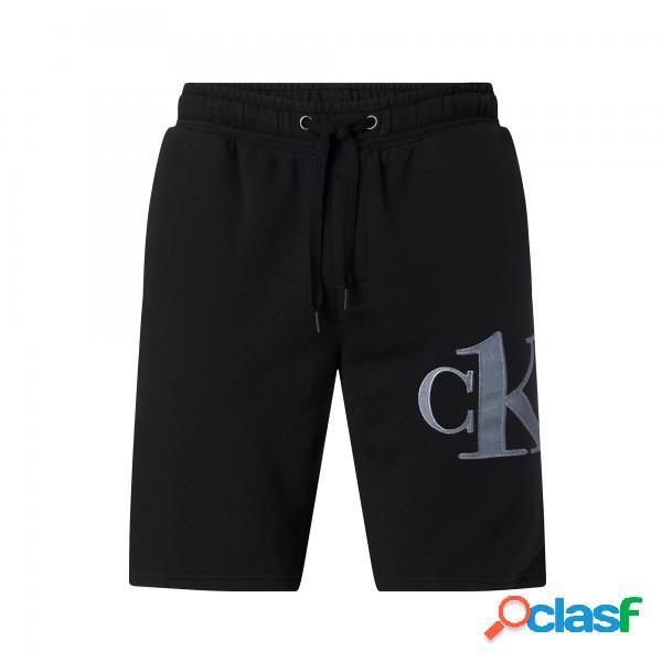 Pantaloncini calvin klein one black man calvin klein - pantaloni corti - taglia: l