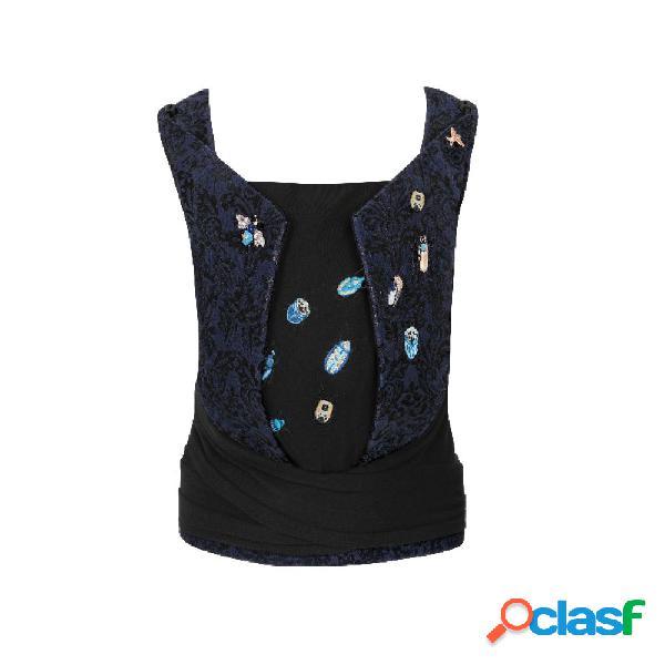 Marsupio cybex platinum yema tie jewels of nature fashion collection dark blue