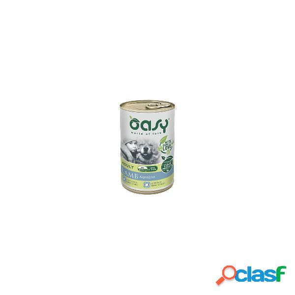 Oasy cibo umido per cani monoproteico adult agnello one protein 400 gr