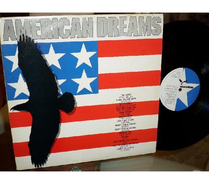 AMERICAN DREAMS Classic Rock - 2 x LP 33 giri 1985 UK Palermo
