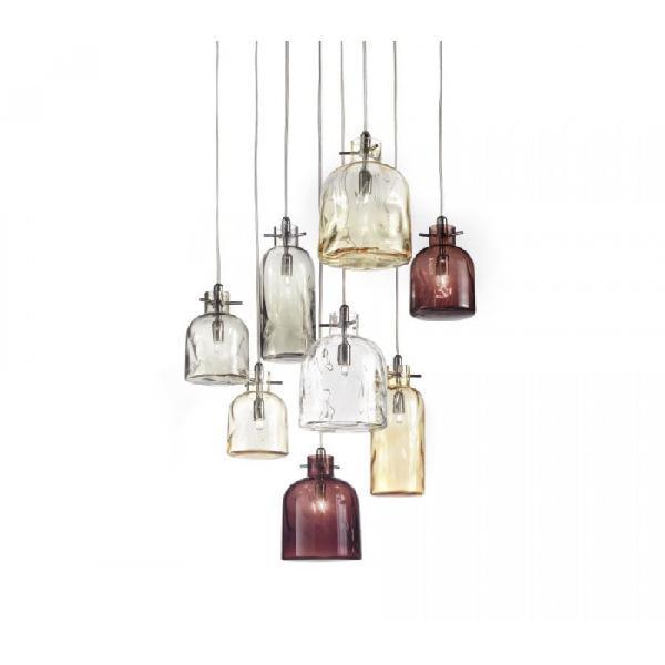 Giocosa collezione di lampade a bottiglia nelle versioni a