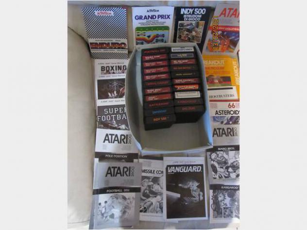 Lotto giochi atati +joystick,ecc.. usato