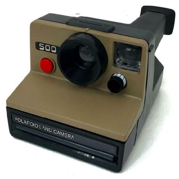 Macchina fotografica istantanea polaroid 500 land camera