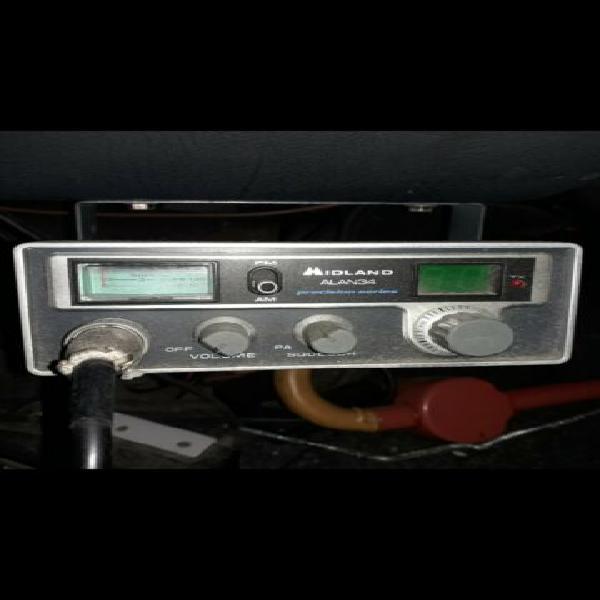 Radio cb midland alan 34 colt 34+34 canali usato vintage