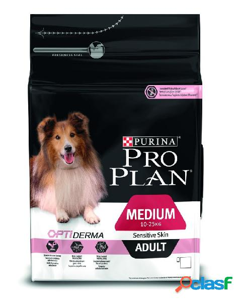 Proplan cane adult medium optiderma salmone kg 14