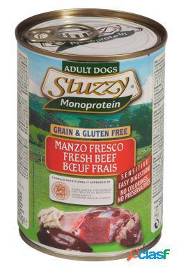 Stuzzy dog monoproteico manzo fresco 400 gr