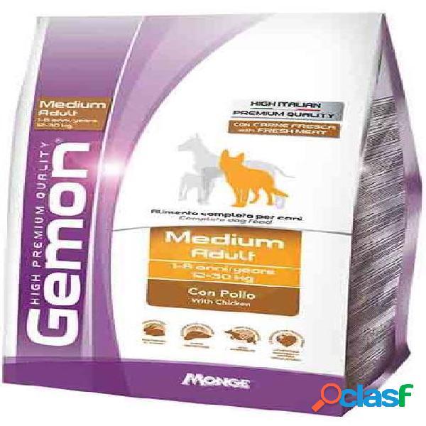 Gemon cane medium adult kg 15 pollo