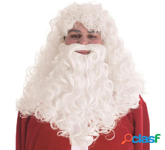 Parrucca e barba di Babbo Natale