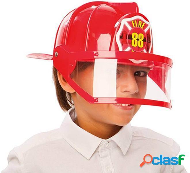 Elmetto da vigile del fuoco con visiera per bambini