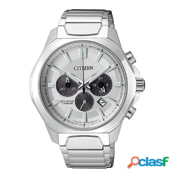 Orologio citizen cronografo in super titanio ptic eco drive - super titanium - ca4320-51a
