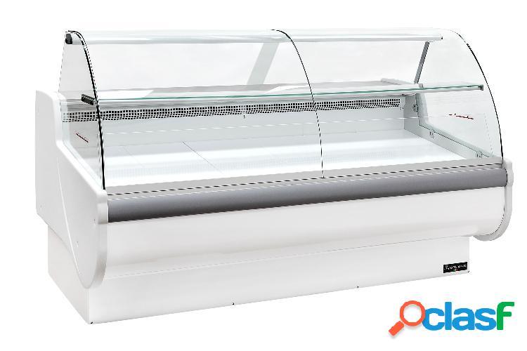 Vetrina espositiva ventilata nancy full optional, temp. +1°/+10°c, l 2000 mm