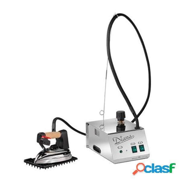 Ferro da stiro professionale diana completo di ferro da stiro caldaia 1,2 litri 2 ore autonomia stiratura doppia valvola di sicurezza