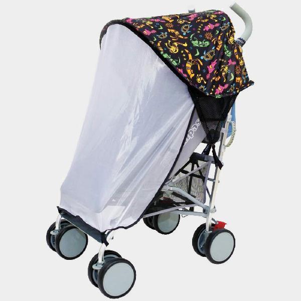 Copertura parasole per passeggino con zanzariera