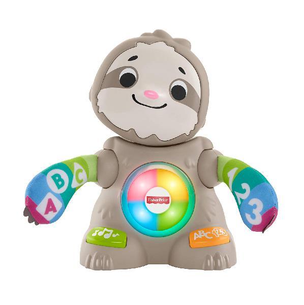 Fisher-price- parlamici baby bradipo giocattolo educativo