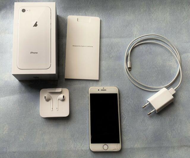 Iphone 8 64gb silver con garanzia