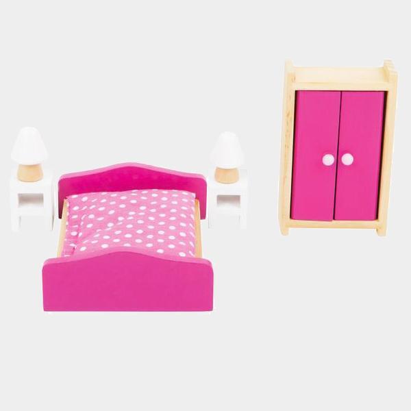 Mobili camera da letto delle bambole rosa