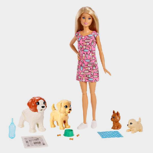 Set gioco barbie doggie day-care