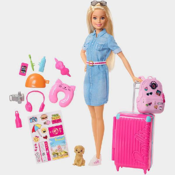 Set gioco barbie travel