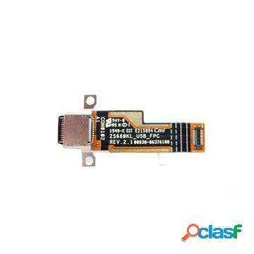 Connettore di alimentazione con cavo flex per asus rog phone ii zs660kl