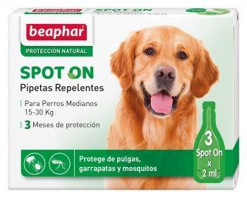 Beaphar pipette antiparassitari per cani taglia media