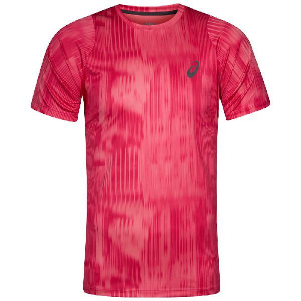 Camicia da running da uomo stampata asics fuzex 129928-2067