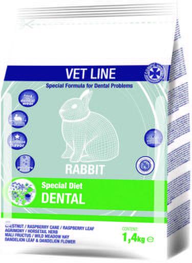 Cunipic cibo secco vet line dentale per conigli
