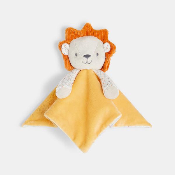 Doudou piatto leone amarillo