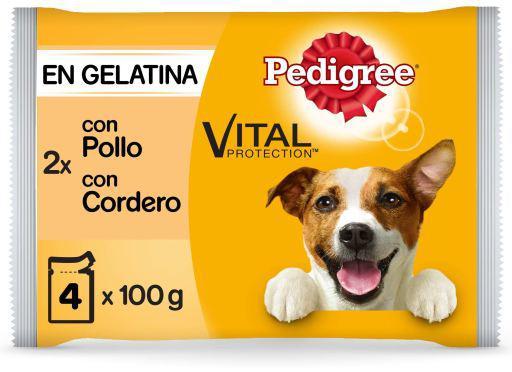 Pedigree cibo umido per cani multipack in gelatina di pollo