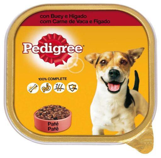 Pedigree cibo umido per cani al gusto di manzo e fegato in