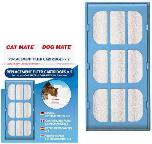 Pet mate cat mate filtro per ciotola animali domestici
