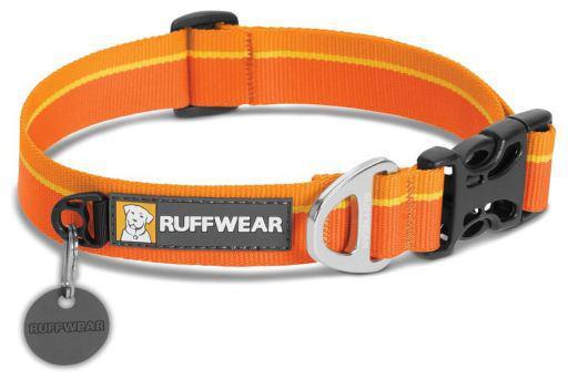 Ruffwear collare cane hoopie orange sunset