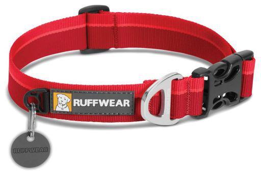Ruffwear collare cane hoopie red currant