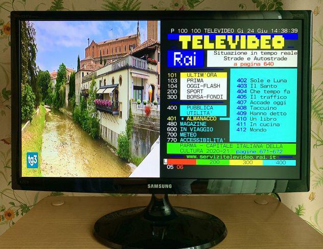 Samsung tv monitor 24'
