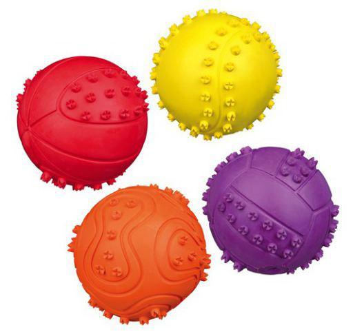 Trixie palla gioco in gomma naturale