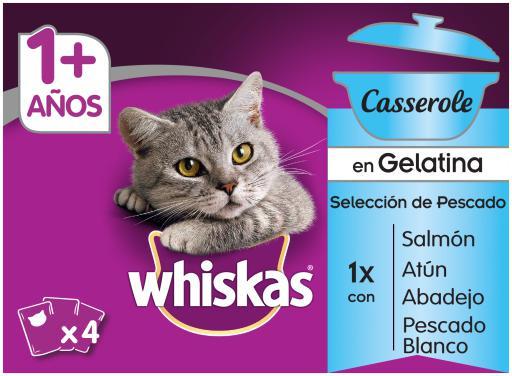 Whiskas casserole cibo umido gatti adulti multipack