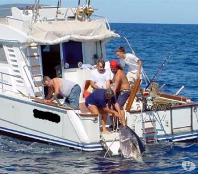 Barca pesca wa cabin open usate napoli - barche usate occasione
