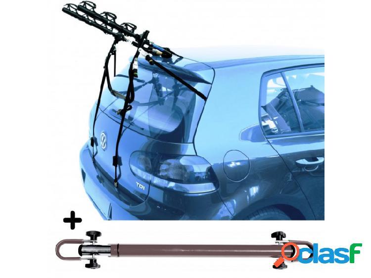Portabici auto posteriore volkswagen caddy life (2004 in poi)