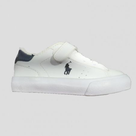 Polo ralph lauren sneakers bambino e neonato white