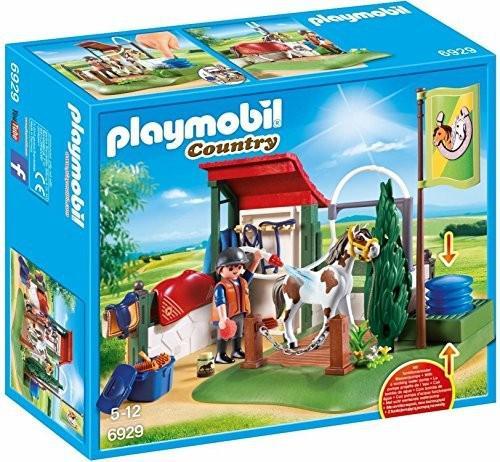 Playmobil 6929 area di cura dei cavalli