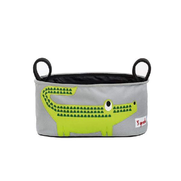 Portaoggetti per passeggino coccodrillo 3 sprouts