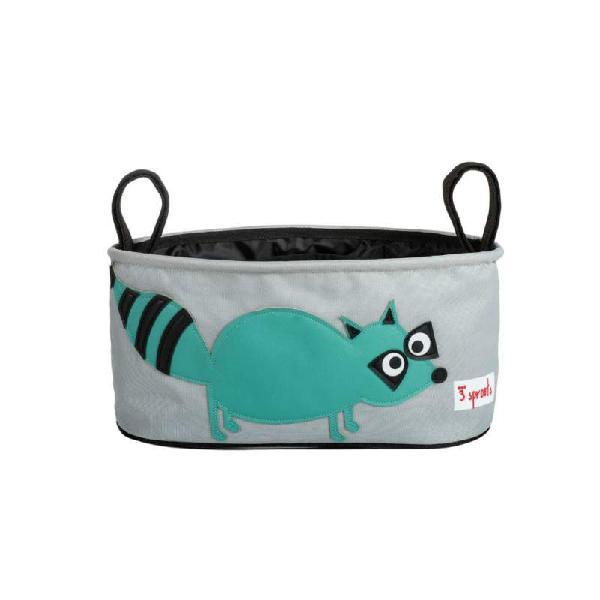 Portaoggetti per passeggino orsetto lavatore 3 sprouts