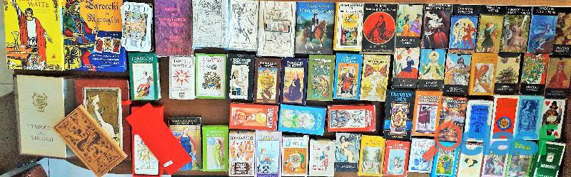 Sibille , Oracoli , Libro del destino , Carte Karma ,mazzi nuovi mai usati alcuni ancora celofanati
