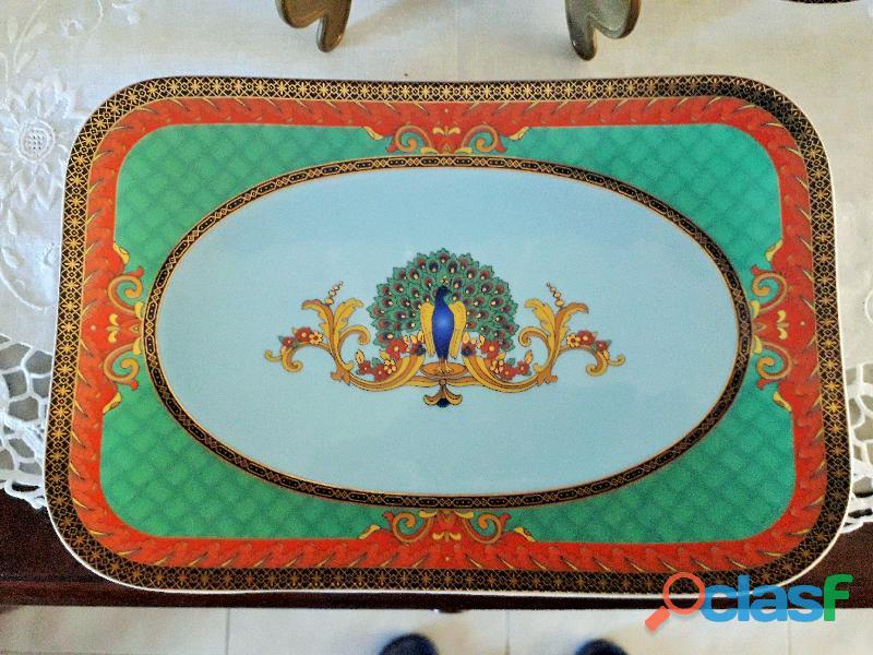 """VERSACE """" Le Voyage de Marco Polo """" per Rosenthal fuori produzione, piatti decorativi 1"""