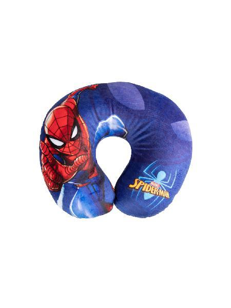 Cuscino da viaggio marvel spiderman 27x23x9 cm - bimbostore