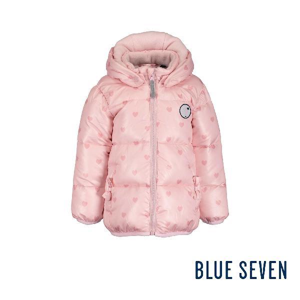Giubbotto con cappuccio rosa baby bambina